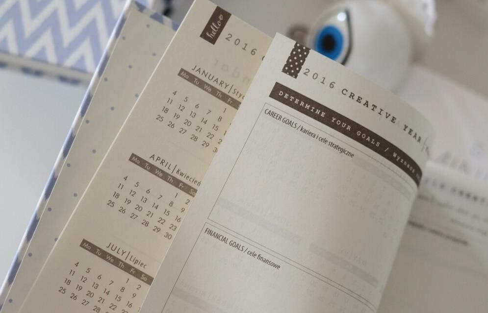 Organizujemy się - kalendarz